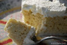 TRES LECHES CAKE.  This is one of my favorite cakes! I use one cup whole caned coconut milk instead of the plain milk and it gives it a great little extra taste.