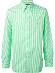 POLO RALPH LAUREN Striped Logo Shirt. #poloralphlauren #cloth #shirt