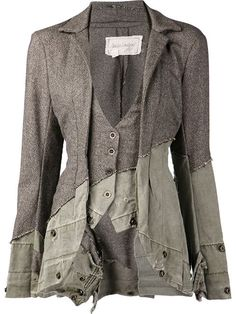 Shop Greg Lauren tweed tent jacket in  from the world's best independent boutiques at farfetch.com. Over 1000 designers from 300 boutiques in one website.