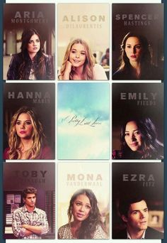 The teens of pll
