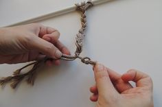 How To Make 6 Common Macrame Knots and Patterns   Red Heart