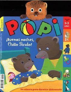 Popi, revista recoomendada a partir de 2 años. N. 209 (novembro 2017)