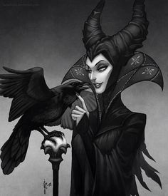 14. Favourite Villain - Disney sleeping beauty - 1959 - Maleficent.....she is truly evil and terrifying