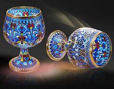Современные шедевры ювелирного искусства на выставке Гохрана России