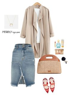 fashion by yumiko-merrily on Polyvore featuring ファッション, River Island, Fendi, Steven Alan, Mark & Graham, Axiology, Miu Miu, Sephora Collection and Aveeno
