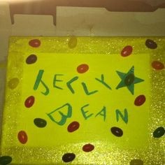 For Becca and Keith's Jelly Bean!