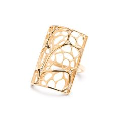Anna Lynn ring in 18k yellow gold & diamonds #jewelry #finejewelry #ring…