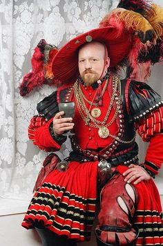 Renaissance Mode, Renaissance Fashion, Renaissance Clothing, Historical Costume, Historical Clothing, Mens Garb, Hipster Stil, 16th Century Fashion, Mardi Gras