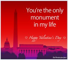 Valentine's Day: Places to go and things to do:  Send a D.C.-centric valentine.