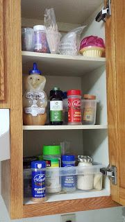 Spice Cupboard Makeover