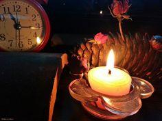 Photograph by Meral Meri candle,mum,gece,night,loş,dark,romantic
