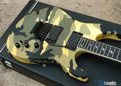 ESP GuitarsJeff HannemanfromSlayer bandSig withEMG Pickups!