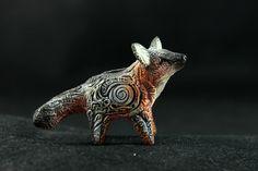 Grey Fox Totem by hontor.deviantart.com on @deviantART