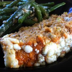 It is not much of a secret that we love buffalo chicken. We've done soup, egg rolls, pizza and now we can check meatloaf off the list. My favorite thing about this loaf was not only how juicy it wa...