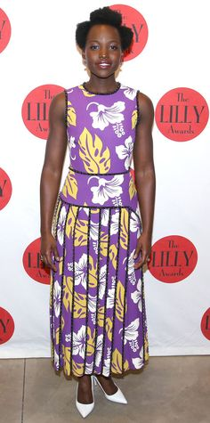 Look of the Day - Lupita Nyong'o - from InStyle.com