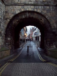 Bootham Bar, York - The archway itself dates from the 11th century and the rest of the structure is largely from the 14th century.