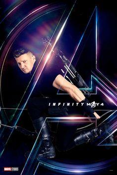 Jeremy Renner as Hawkeye - The Avengers: Infinity War, 2018