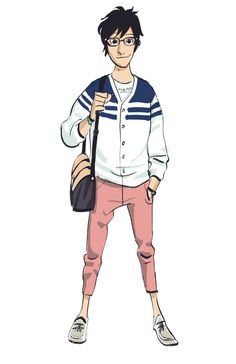 This site has a lot of amazing concept art of the Big Hero 6 characters! <3 (This an early version of Tadashi)