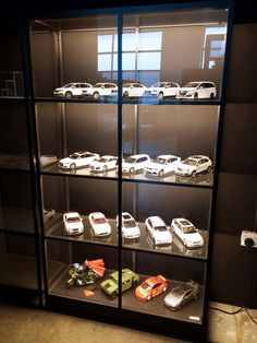 Display Cabinet Lighting, Display Cabinets For Sale, Hot Wheels Display, Battery Lights, Rack Design, Acrylic Display, Displaying Collections, Room Themes, Decoration