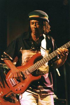 Alphonso Johnson - bass guitar