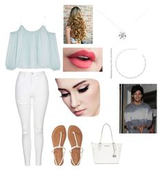 """""""Shopping with Louis"""" by thatrandomnerdygirl on Polyvore featuring Elizabeth and James, Topshop, Aéropostale, MICHAEL Michael Kors and Tiffany & Co."""