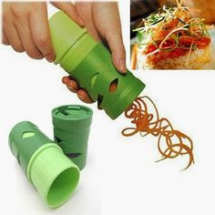 Kitchen Creativity ~ how to make your salads look gorgeous This site shows many unique kitchen gadgets!