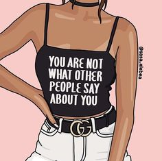 Sabrina Brügmann aka Sasa illustra donne forti e indipendenti Frases Girl Boss, Girl Boss Quotes, Woman Quotes, Girl Power Quotes, Word Doc, Positive Quotes, Motivational Quotes, Inspirational Quotes, Body Positive