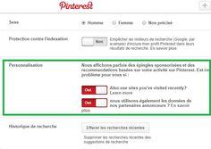 Pinterest change sa politique de confidentialité en raison des Pins Sponsorisés