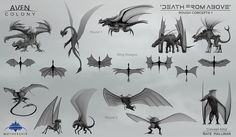 Death from Above Alien Thumbs 1 by NateHallinanArt