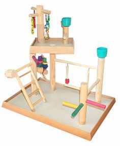 Bird Play Gym - Presented by BirdsComfort.com