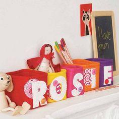 Personalised Felt Box - Inspiration...