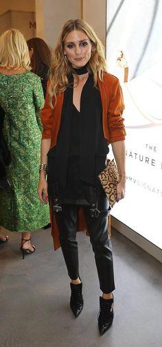 Olivia Palermo at London Fashion Week VI