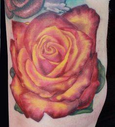 Katelyn Crane - Rose tattoo
