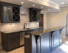 Convert Your Garage into a Man Cave - Man Cave Home Bar Basement Renovations, Home Renovation, Home Remodeling, Bedroom Remodeling, Kitchen Remodeling, Basement Bar Designs, Basement Ideas, Basement Layout, Basement Makeover