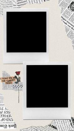 Creative Instagram Photo Ideas, Instagram Story Ideas, Polaroid Picture Frame, Paper Background Design, Hight Light, Polaroid Template, Birthday Post Instagram, Instagram Editing Apps, Instagram Frame Template