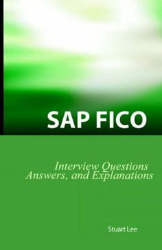 SAP FICO Interview Questions, Answers, and Explanations: SAP FICO Certification Review. Pages: 132. Each question includes everything you need to know to master the interview or properly evaluate a candidate. From helping you to assess your FICO skills to evaluating candidates for a job, SAP FICO Interview Questions & Answers will help you understand what you really need to know. It' s clear that FICO is one of the most important areas in SAP - and finding answers can be difficult.