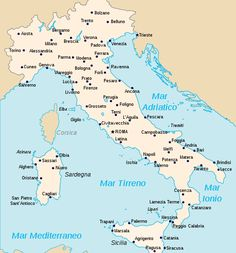 Towns And Cities In Italy Italy Cities Map Eat Drink Be
