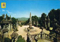 LAMEGO (Portugal). Largo dos Reis