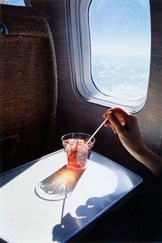 #airplane #window #drink