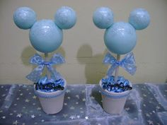 32 ideas de Baby Shower de Mickey Mouse Mickey Mouse First Birthday, Mickey Mouse Parties, Mickey Party, 1st Boy Birthday, Birthday Table, Baby Shower Deco, Boy Baby Shower Themes, Baby Boy Shower, Festa Mickey Baby
