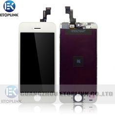 Iphone 5S Parts-White Color Iphone 5S LCD Screen with digitizer complete----Wholesale mobile phone parts, mobile phone lcd, China mobile phone spare parts supplier, LCD factory