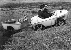 Penguin amphibious vehicle >> Penguin Photos > Penguin with trailer
