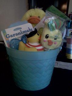 Baby boy Easter basket