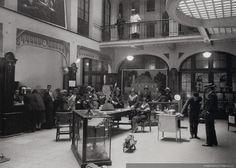 1925, exposición de artículos eléctricos