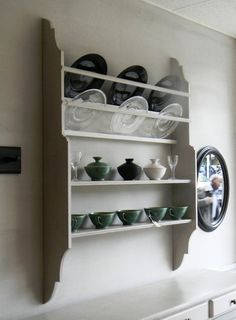 Plate Rack With Shelves - akta.uk.com - AKTA. Scandinavian Furniture Makers & Upholsters.