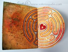 visual blessings: Insight Walking the Labyrinth