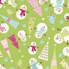 Cheerful Christmas fabric- Riley Blake's Be Merry.
