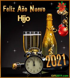 Happy New Year Gif, New Year Wishes, New Year 2020, Merry Christmas, Christmas Images, Christmas Time, Happy Birthday, Kitchen Appliances, Halloween