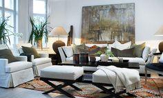 Haus Design: Slettvoll: Ralph Lauren With A European Twist Decor, Transitional Living Rooms, Interior Design, House Interior, Living Room Designs, Room Design, Home Decor, Furniture, Home Living Room