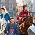 Fiesta medieval bodas isabel de segura en Teruel.